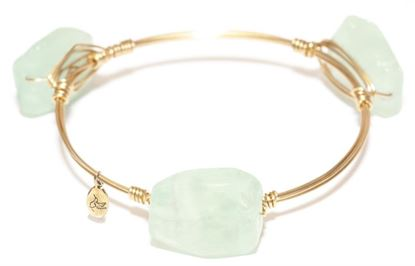 Picture of Rock Candy Bangles - New Jade • Emotional Cleasing
