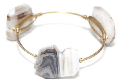 Picture of Rock Candy Bangles - Agate • Contrast & Vitality