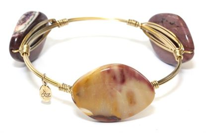 Picture of Rock Candy Bangles - Moukaite • Cleansing & Remembrance