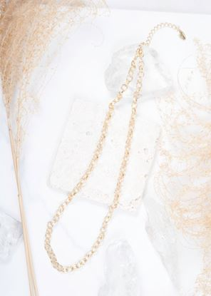 Picture of Chain Necklace - Matte Gold