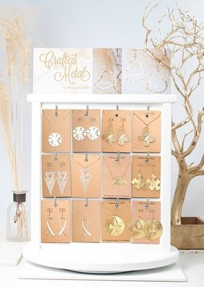 Picture of Crafted Metals Necklace & Earring Pre Pack - With Fixture