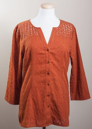 Picture of Jacquard Lace - Caramel