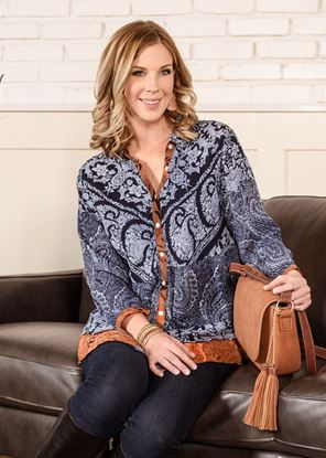 Picture of Patchwork Tunic - Sienna