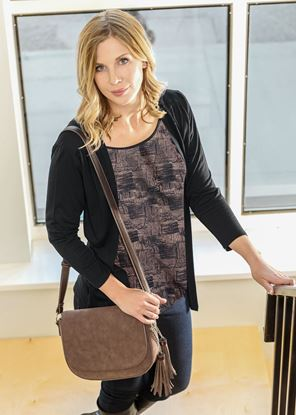 Picture of Cardigan Tank - Black