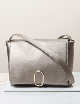 Picture of Signature Blu Handbag - Meryl - Metallic Bronze