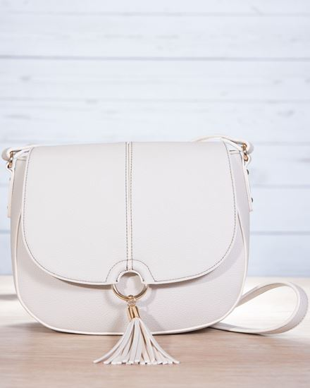 Picture Of Saddle Contrast Sch Bag Dove
