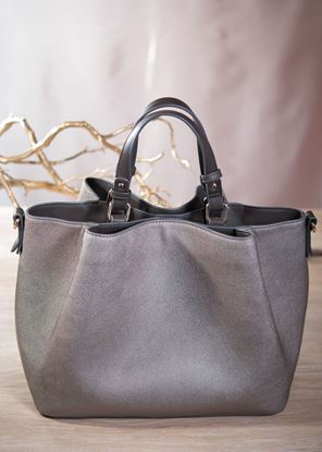 Picture of Pucker Tote - Bronze Frost