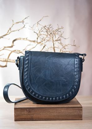 Picture of Whipstitch Saddle Bag - Riverbed
