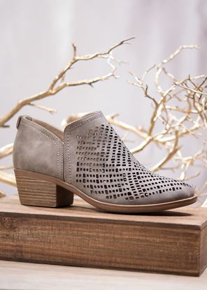 Picture of Laser-Cut Shootie - Taupe