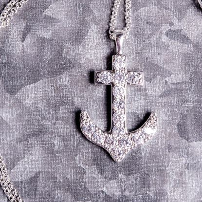 Picture of Cross/Anchor/Dove Necklace - Silver