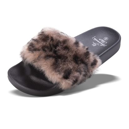 Picture of Faux Fur Slide - Cheetah - Case of 12
