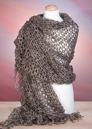 Picture of Open Weave Wrap - Brown