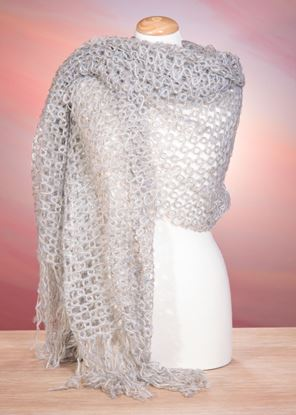 Picture of Open Weave Wrap - Ice