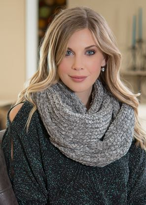 Picture of Chenille Scarf - Gray