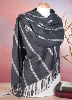 Picture of Navajo Stripe - Gray