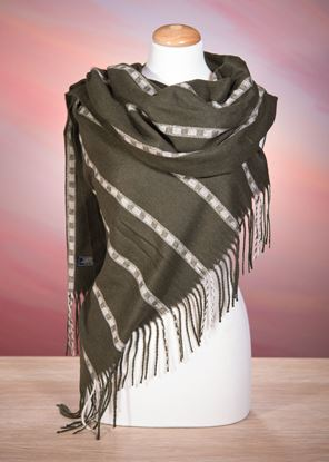 Picture of Navajo Stripe - Green