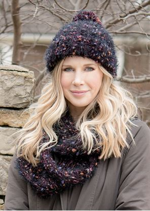 Picture of Summit Infinity Scarf - Winterberry