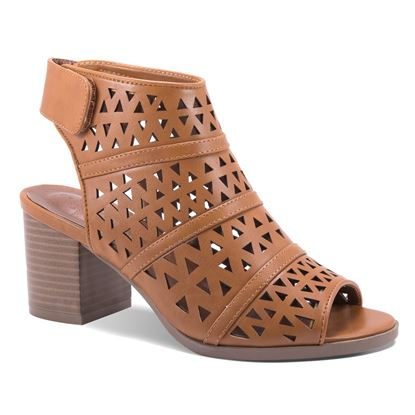 Picture of Ava Bootie - Cognac - Size Run B