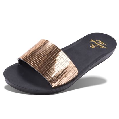 Picture of Amelia - Mirrored Slide - Gold - Size Run B
