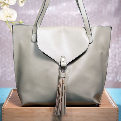 Picture of Tassel Tote - Olive