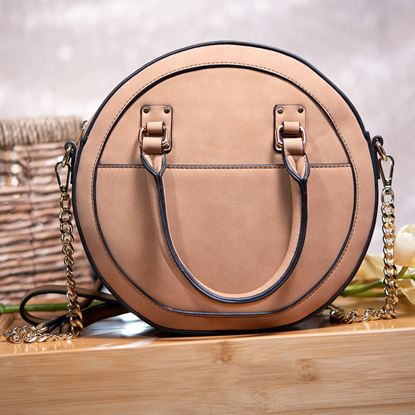 Picture of Circle Crossbody - Camel