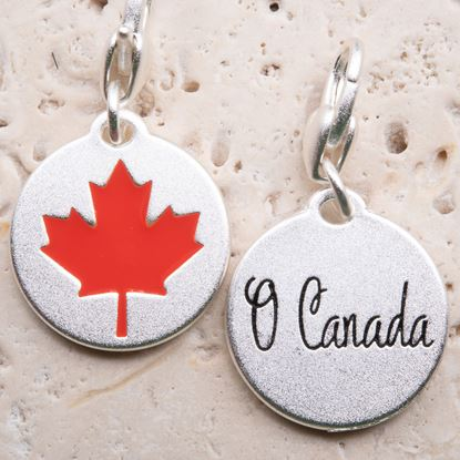Picture of Silver 1-Tone Medallion - Maple Leaf