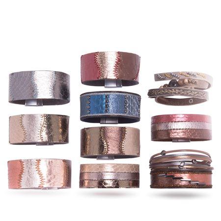 Picture for category GENUINE LEATHER BRACELETS