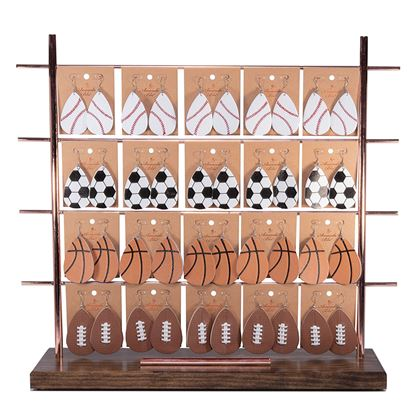 Picture of Leather Sports Earring Collection