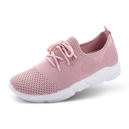 Picture of Athleisure Shoes - Size run 6-10 (9 pieces) - Mauve Solid
