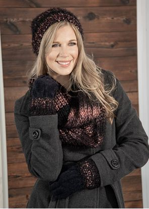 Picture of Alpine Ombre Pom Hat - Elderberry