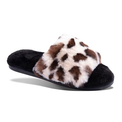 Picture of Leopard Slide Slipper - 8pc Size Run