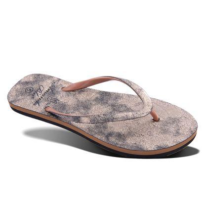 Picture of Saguaro Metallic Snake Flip-Flop Sandal 6-10 Size Run A (9 Pack) - Gold