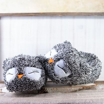 Picture of Owl Slippers - 8pc Size Run