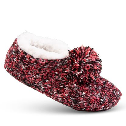 Picture of Cozy Slipper Socks - Red