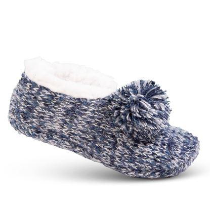 Picture of Cozy Slipper Socks - Blue