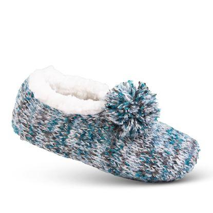 Picture of Cozy Slipper Socks - Aqua