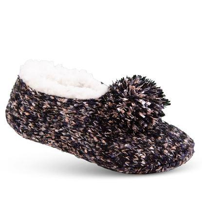 Picture of Cozy Slipper Socks - Black