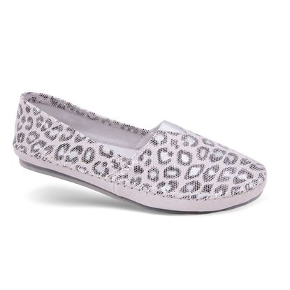 Picture of Genuine Leather Flat 6-10 Size Run A (9 Pack) - Pearl Leopard