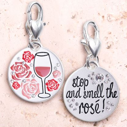 Picture of Silver 1-Tone Medallion - Rosé