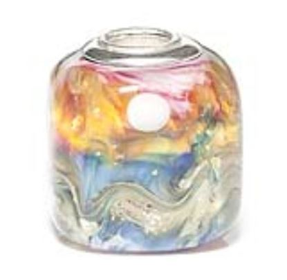 Picture of Prima Artisan Hand-Made Glass Bead - Sunset Waves