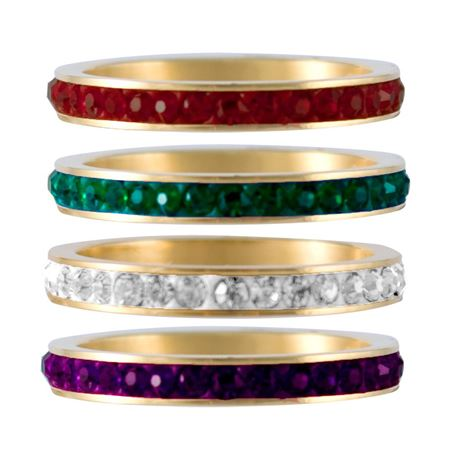 Picture for category Pavé Gold Stack Rings