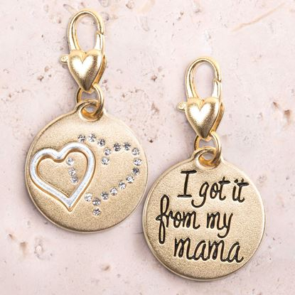 Picture of Gold 2-Tone Medallion - Mama Heart