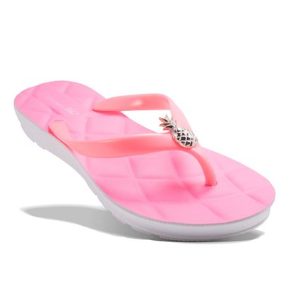 Picture of Quilted Pineapple Flip Flop - Pink - Case of 12