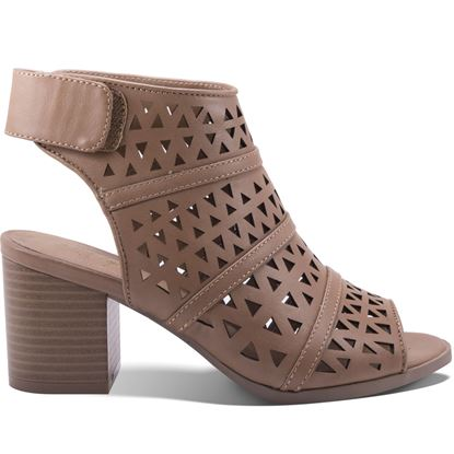 Picture of Ava Bootie - Taupe - Size Run B