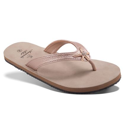Picture of Aruba - Crystal Starfish Sandal - Rose gold - Size Run A
