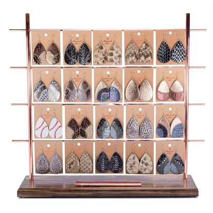 Picture of Earring Collection with Genuine Leather Pre Pack 2-with Fixture