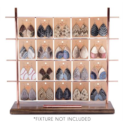 Picture of Earring Collection with Genuine Leather Pre Pack 2-without Fixture