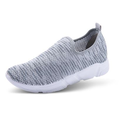 Picture of Athleisure Shoes - Size run 6-10 (9 pieces) - Heathered Gray Solid