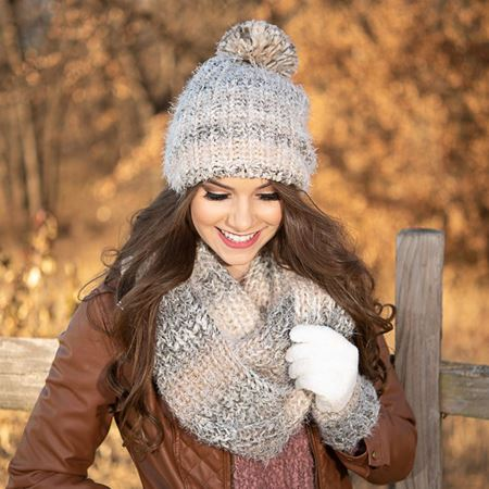 Picture for category SCARVES WRAPS HATS & GLOVES