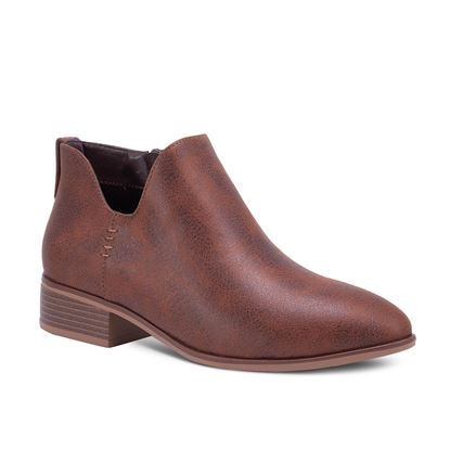 Picture of Juniper Side Stitch Bootie - Size run A 6-10 (9 pieces) - Brown